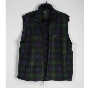 Woolrich Men's Plain Fleece Vest Size L